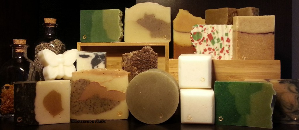 horseshoe farm soap