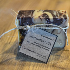 chocolate milk | goat milk soap