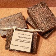 bootscraper | natural vegan foot scrub soap