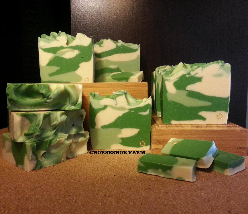cowboy camo | goat milk soap