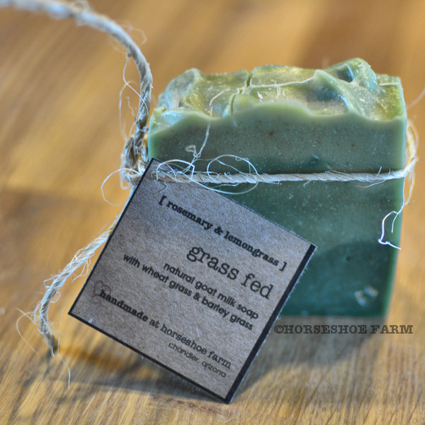 grass fed | goat milk soap