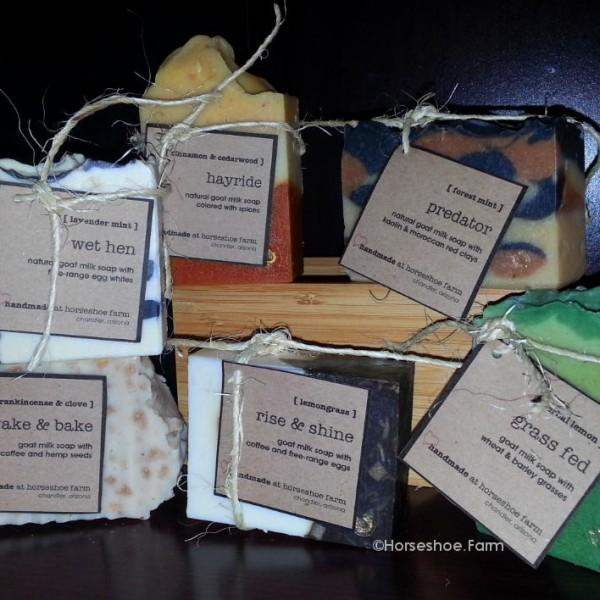 natural handmade goat milk soap
