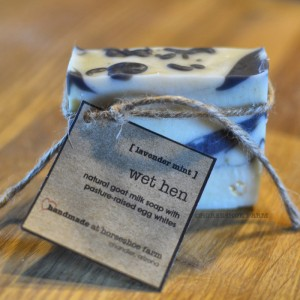 wet hen | goat milk & egg white soap
