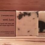 wet hen | goat milk & egg white soap