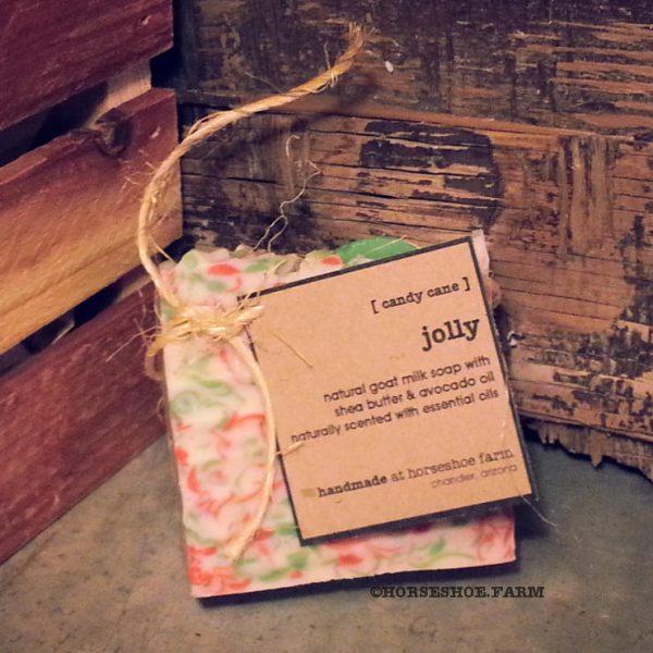 jolly goat milk soap