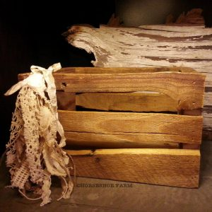reclaimed wood gift box